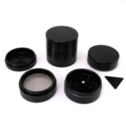 Black Leaf Concave Mixer Setup