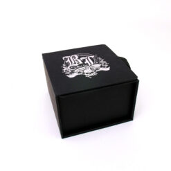Black Leaf Deep Engraving Mixer Gift Box