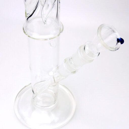 Black Leaf Glass Souvenir 46 cm Base