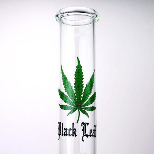 Black Leaf Glass Souvenir 46 cm Mouthpiece