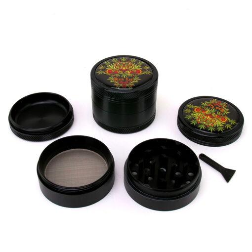 Black Leaf Green Skull Black Mixer Setup