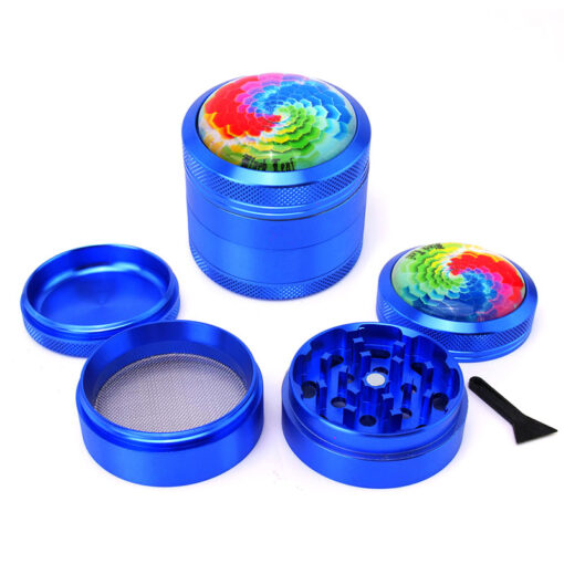 "Black Leaf ""Mandala"" Mixer Blue Setup"