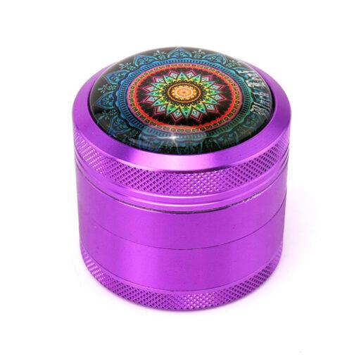 """Black Leaf """"Mandala"""" Mixer Purple"""