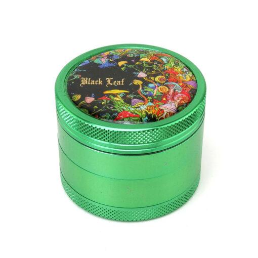 Black Leaf Rainbow Forest Green Mixer