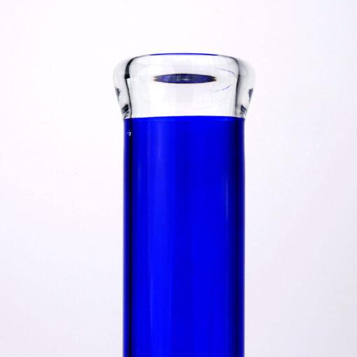 Blue Flask Glass Souvenir Mouthpiece