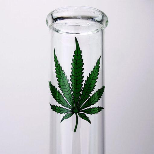 Breitseite Leaf Glass Souvenir 42 cm Mouthpiece
