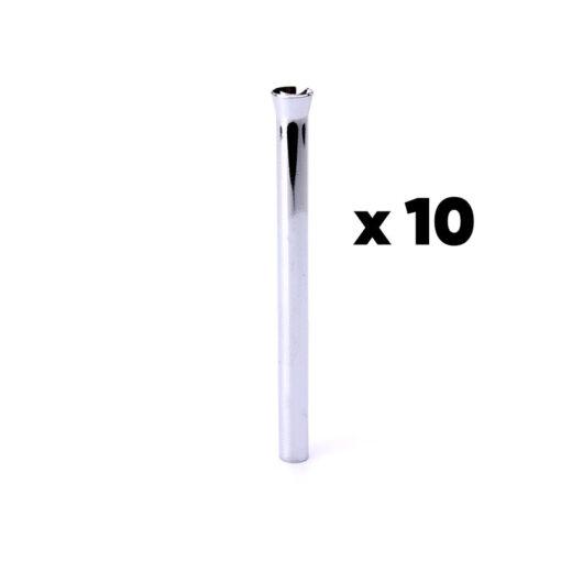 Chrome Straw 10 PCS
