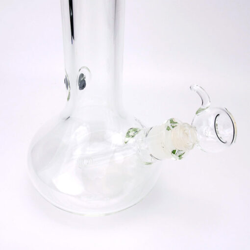 Clear Blaze Glass Souvenir Glass Bowl