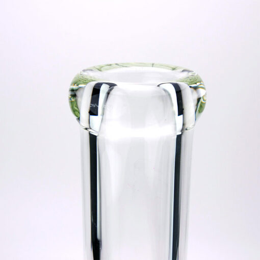 Clear Blaze Glass Souvenir Mouthpiece