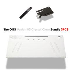 The OGS Fusion V2 Bundle 3PCS Crystal Clear