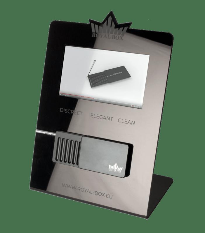 Royal Box Digital Plexiglass Display Stand