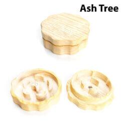 Eco-Friendly Wooden Mixer Ash Tree Setup