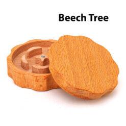 Eco-Friendly Wooden Mixer Beech Tree Open