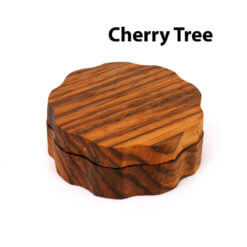 Eco-Friendly Wooden Mixer Cherry