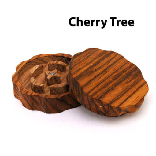 Eco-Friendly Wooden Mixer Cherry Tree Open
