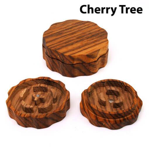 Eco-Friendly Wooden Mixer Cherry Tree Setup