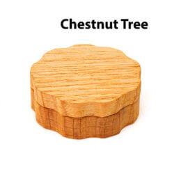 Eco-Friendly Wooden Mixer Chestnut