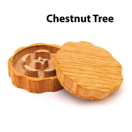 Eco-Friendly Wooden Mixer Chestnut Tree Open