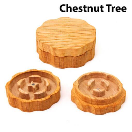 Eco-Friendly Wooden Mixer Chestnut Tree Setup