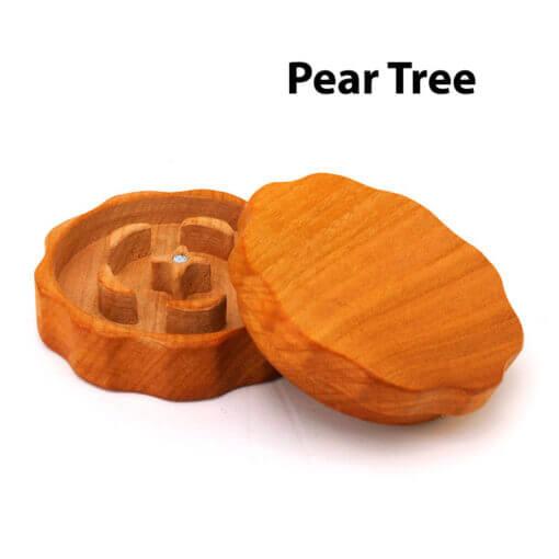 Eco-Friendly Wooden Mixer Pear Tree Open
