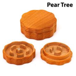 Eco-Friendly Wooden Mixer Pear Tree Setup