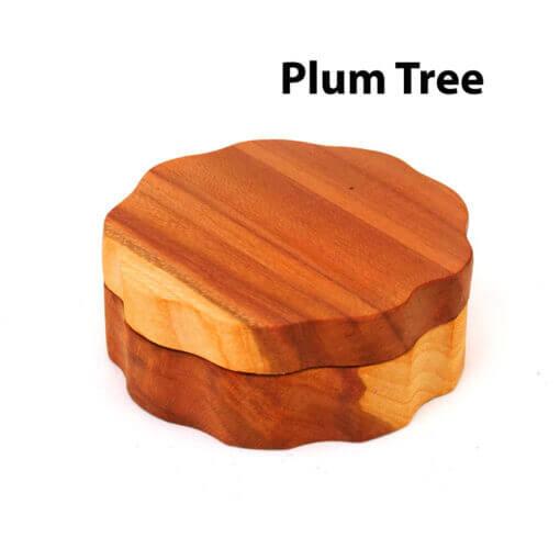 Eco-Friendly Wooden Mixer Plum