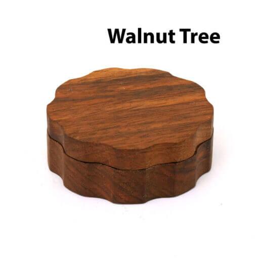 Eco-Friendly Wooden Mixer Walnut