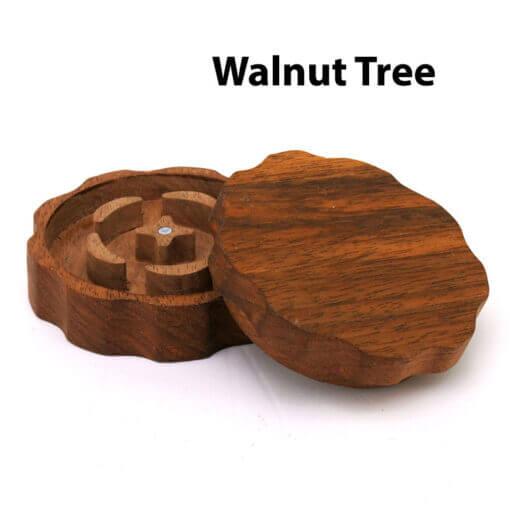 Eco-Friendly Wooden Mixer Walnut Tree Open