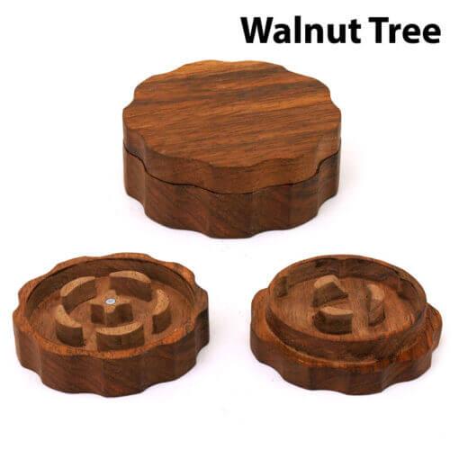 Eco-Friendly Wooden Mixer Walnut Tree Setup