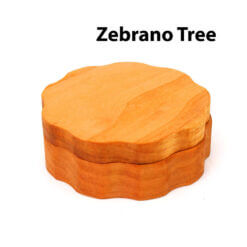 Eco-Friendly Wooden Mixer Zebrano