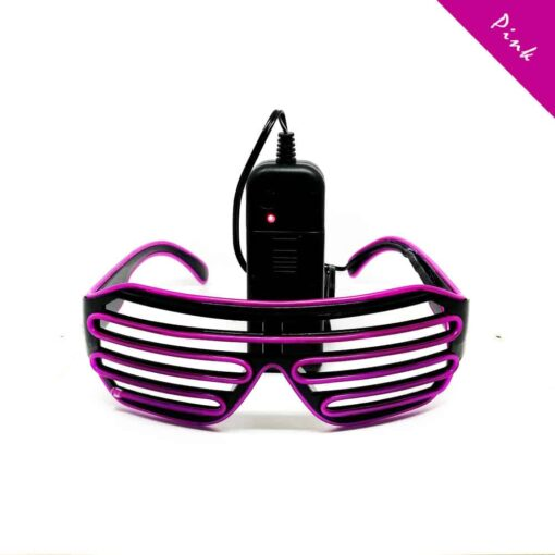 FestX Glasses Pink