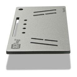 The OGS Fusion V2 Board Silver Glitter Side