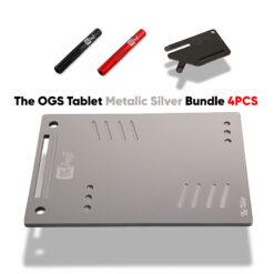 Metalic Silver OGS bundle 4PCS