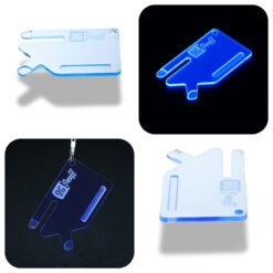 Multi Tool OGS Card Neon UV Blue