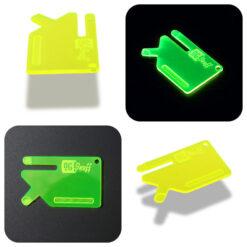 Multi Tool OGS Card Neon UV Green