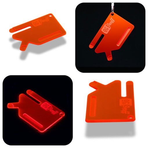 Multi Tool OGS Card Neon UV Red