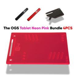 The OGS Tablet Bundle 4PCS Neon UV Pink