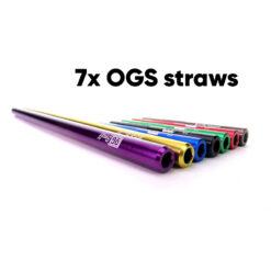 OGS straws Bundel Set 7pcs
