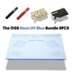 The OGS Platter Bundle 5PCS Neon UV Blue