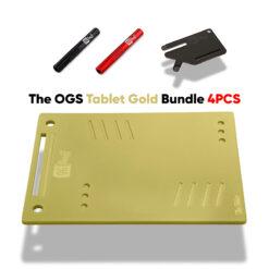 The OGS Tablet Bundle 4PCS Gold