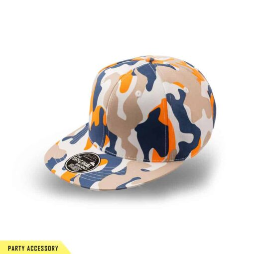 Orange Snap Back Cap
