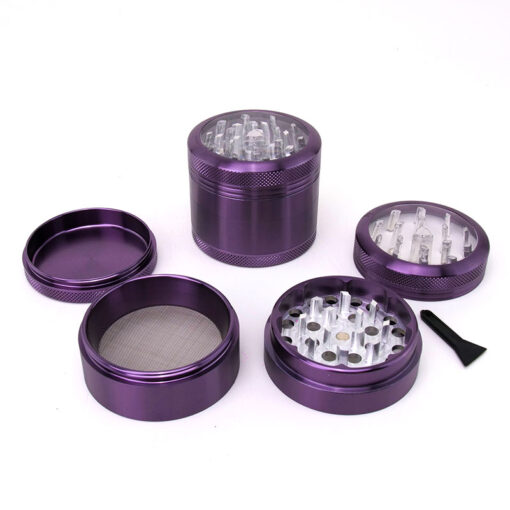 Premium Black Leaf Window Mixer Purple Setup