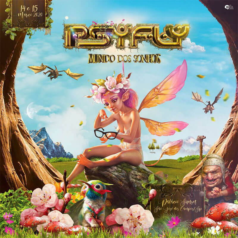 PsyFly - O Mundo Dos Sonhos
