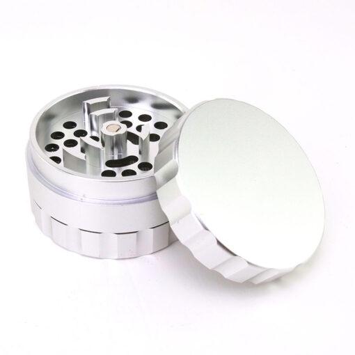 Rotor Blades Mixer 3-Part Silver Open