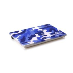 Blue Camouflage Side