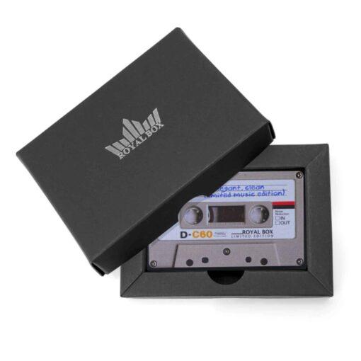 Plastic Cassette Black Packaging
