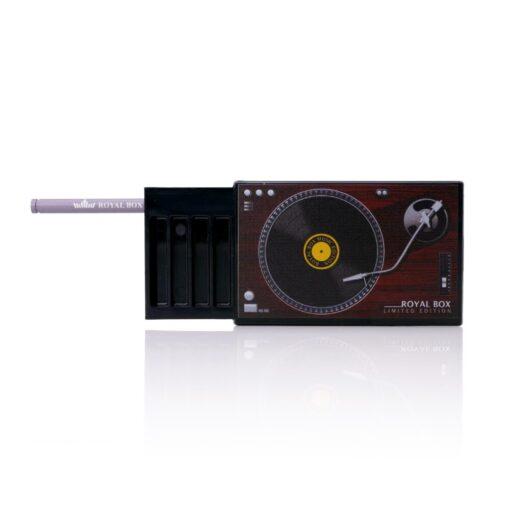 Plastic Gramophone Black Open