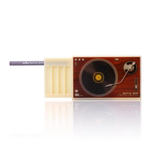 Plastic Gramophone White Open