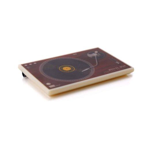 Plastic Gramophone White Side