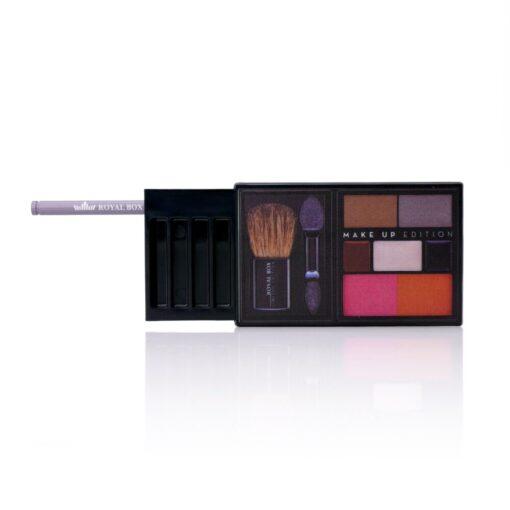 Plastic Make-Up Black Open